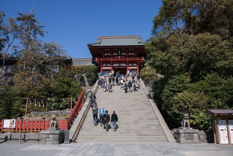 Tsurugaok Hachimangu fotografie stock