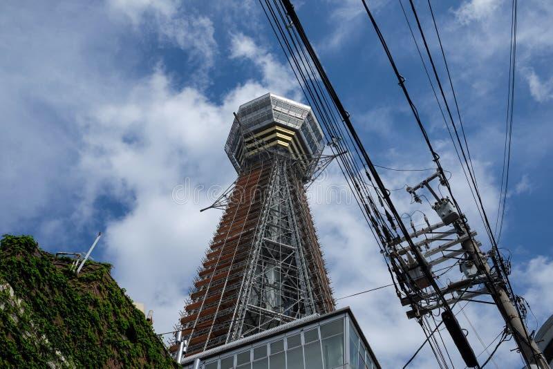 Tsutenkaku a Osaka immagini stock libere da diritti