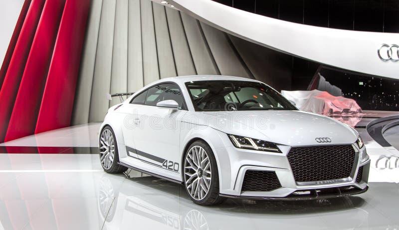 TT Audi έννοια στοκ εικόνες