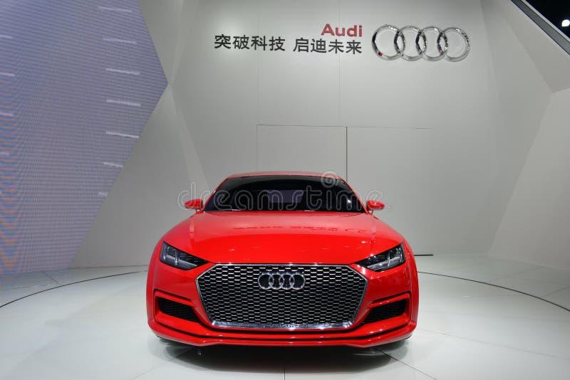 TT Audi sportsback αυτοκίνητο έννοιας quattro στοκ φωτογραφία με δικαίωμα ελεύθερης χρήσης