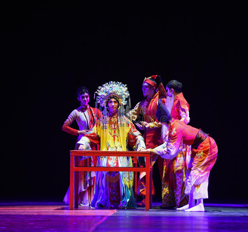 "TThe dressing table-Dance drama""Mei Lanfang"" royalty free stock images"