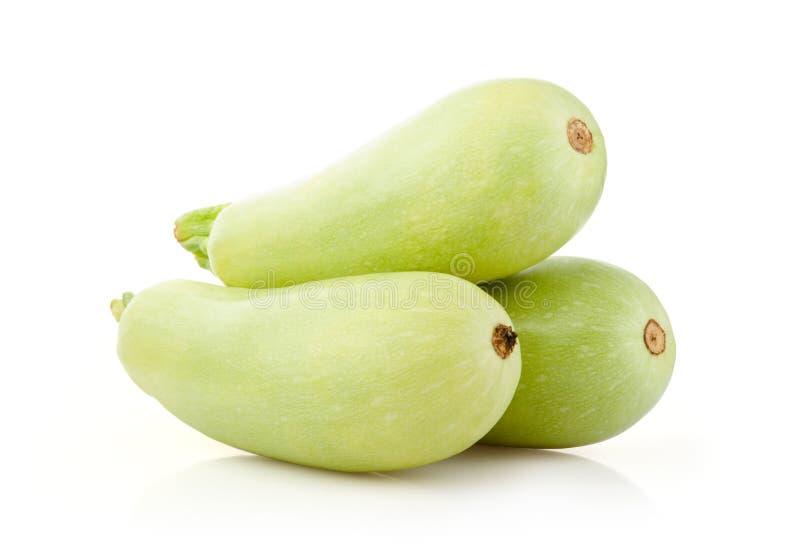 Tuétano de las verduras frescas en blanco foto de archivo