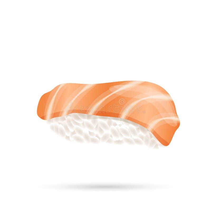 Tuńczyka Nigiri Suszi ilustracji