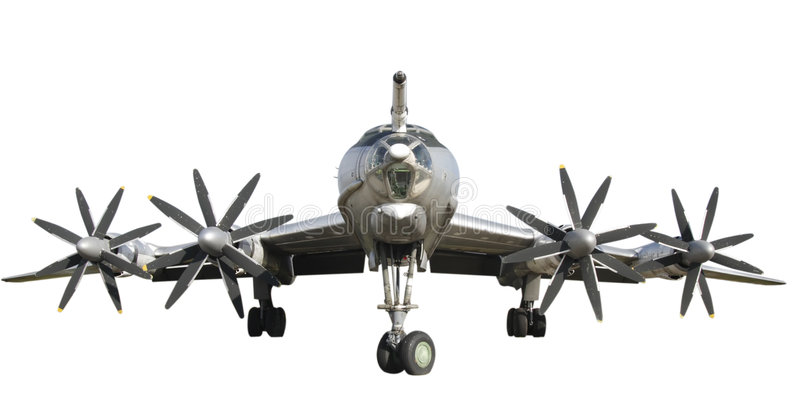 Download Tu-95 bomber stock photo. Image of bomber, plane, aircraft - 6888426