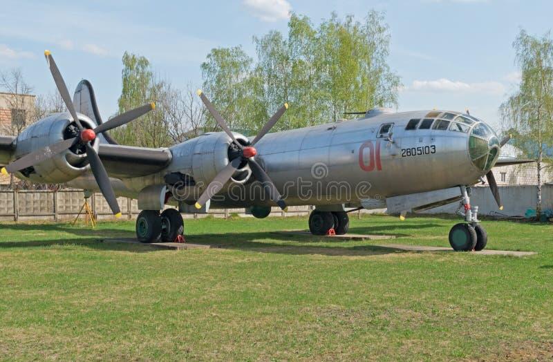 Tu-4 bombowiec samolot obrazy stock