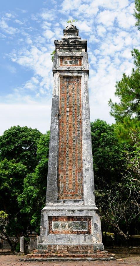 Tu Duc Statues in Vietnam stock images