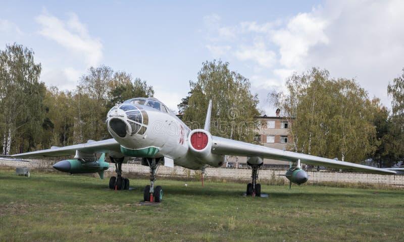 Tu-16K, die erste sowjetische weit reichende Schleifenflügel-Jet-Rakete Ca lizenzfreie stockfotos