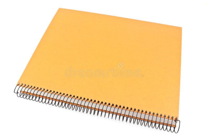 tu twój notatnik ślimakowaty tex obraz stock