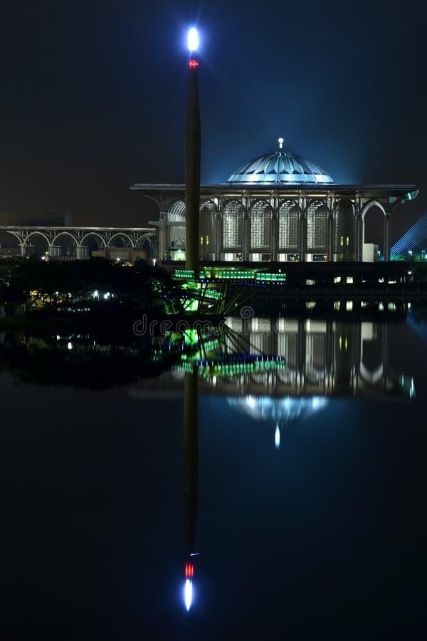 The Tuanku Mizan Zainal Abidin Mosque stock image