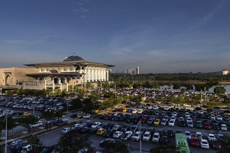 Tuanku Mizan Zainal Abidin Mosque Iron Mosque royalty free stock image