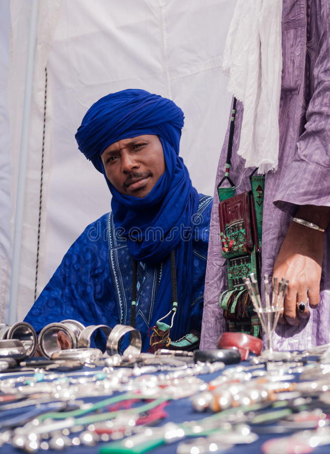 Tuareg royalty free stock photos