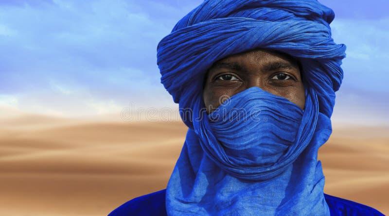 Tuaregs in Timbuktu royalty-vrije stock foto's