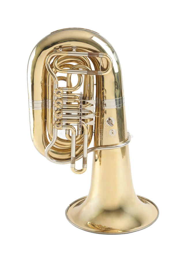 tuba ορείχαλκου στοκ εικόνα με δικαίωμα ελεύθερης χρήσης