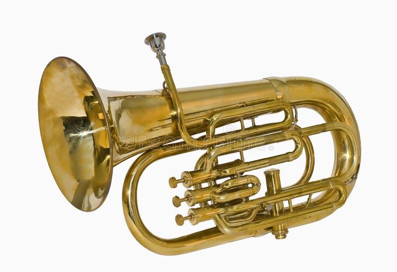 Tuba ορείχαλκου στοκ φωτογραφίες
