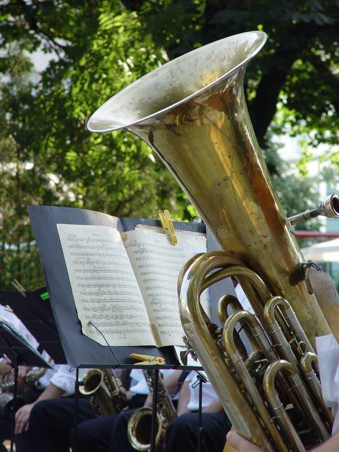 Tuba photo libre de droits