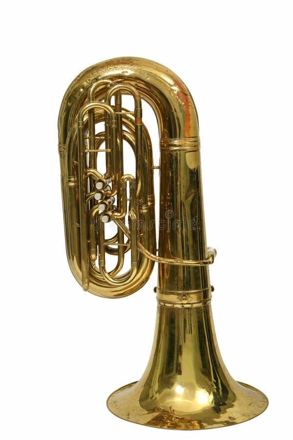 Tuba d'instrument photos libres de droits