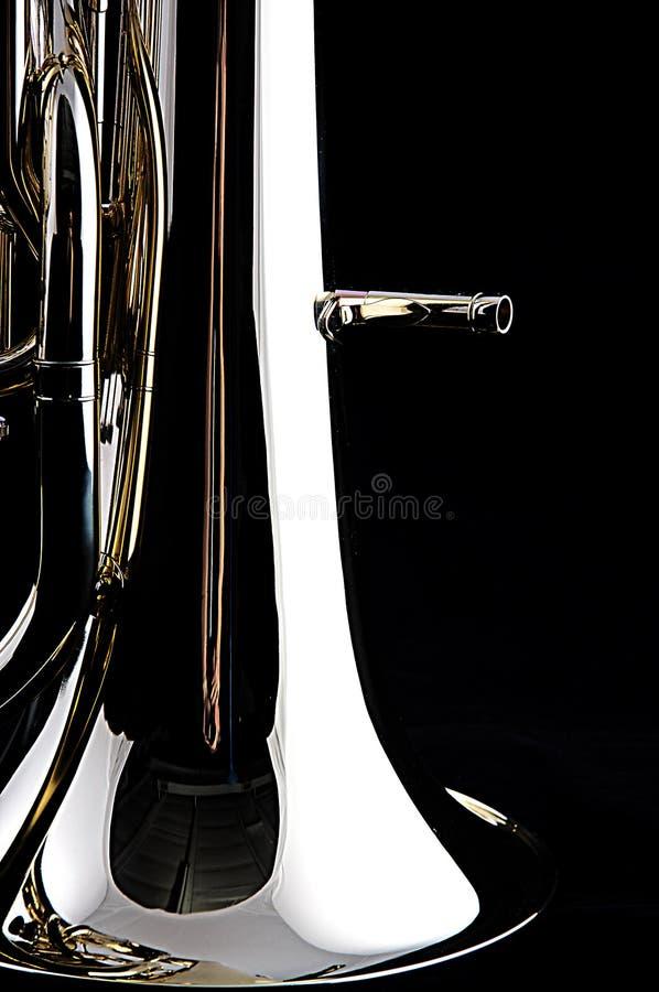 tuba euphonium bass zdjęcia stock
