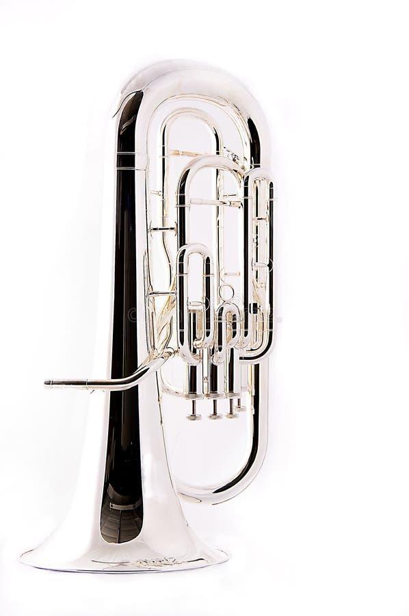 tuba euphonium bass obrazy stock