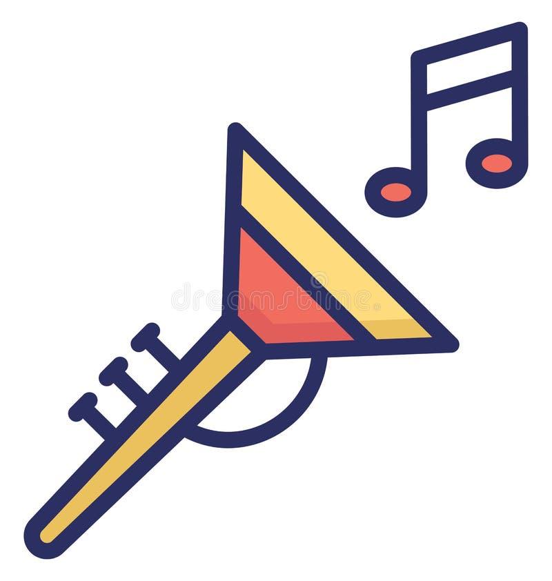 Tuba Vector-Ikone, die leicht geändert werden oder redigieren kann vektor abbildung