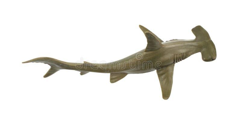 Tubarão de hammerhead do brinquedo imagem de stock