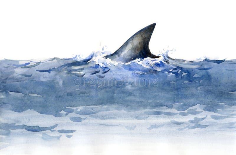 Tubarão (série C) ilustração stock
