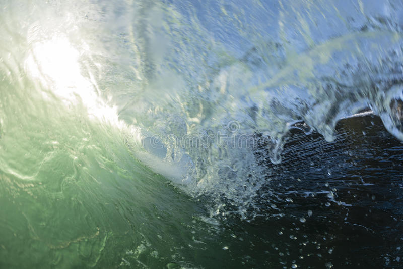 Tubatura di Wave fotografie stock