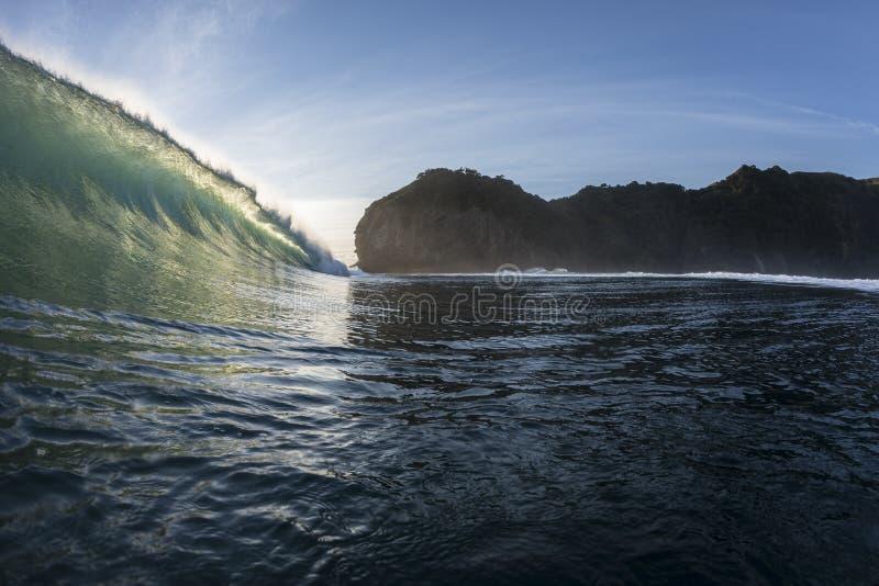 Tubatura di Wave immagine stock