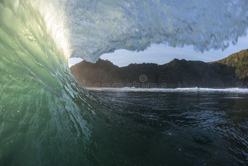 Tubatura di Wave fotografia stock libera da diritti
