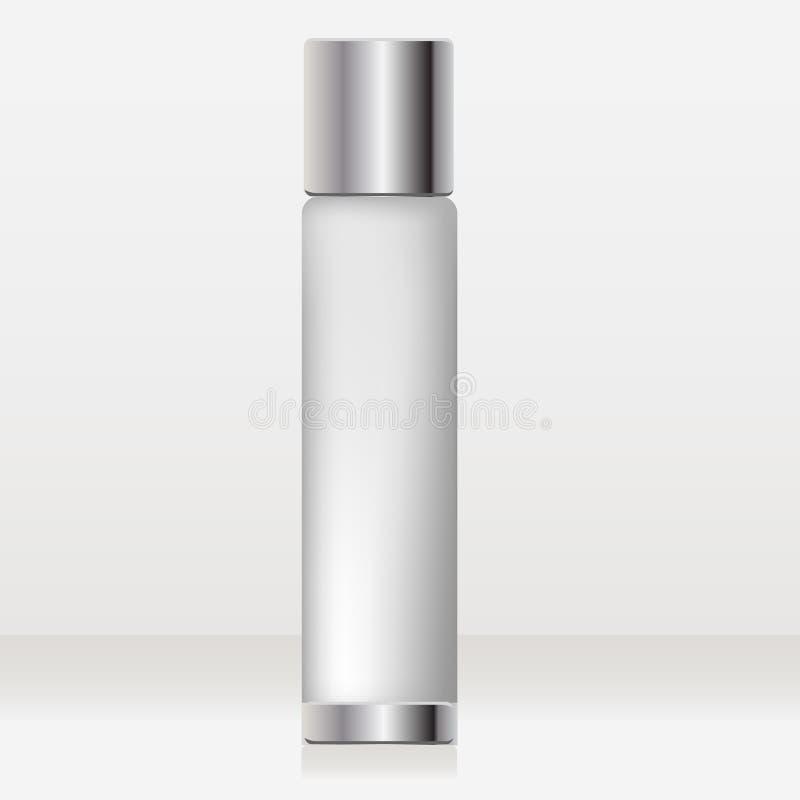 Tube cosmétique illustration de vecteur