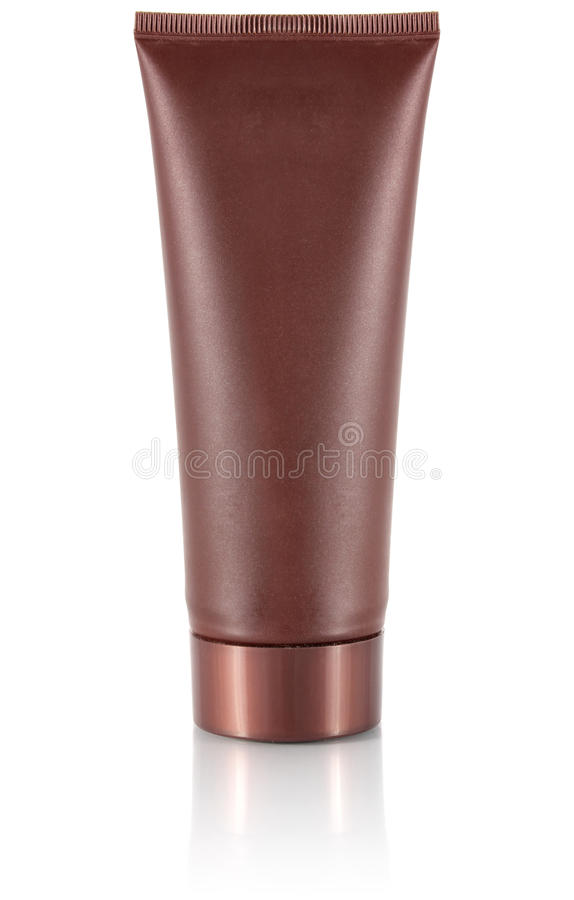 Tube for cosmetic cream royalty free stock photo