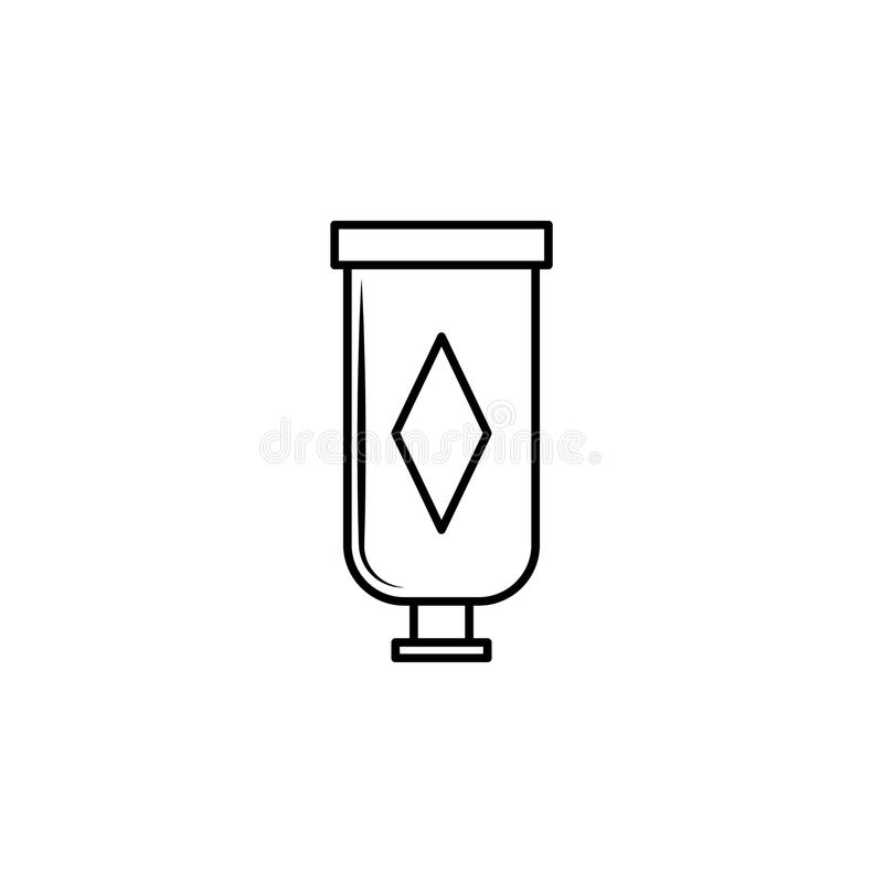 A Tube Of Cream Icon Element Of Bottle For Mobile Concept And Web Apps Thin Line Icon For Website Design And Development App De Stock Illustration Illustration Of Object Cream 113629433