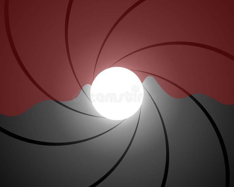 Tube de canon illustration libre de droits