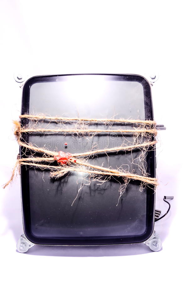 Tube de Ray Tube de cathode de vintage image libre de droits