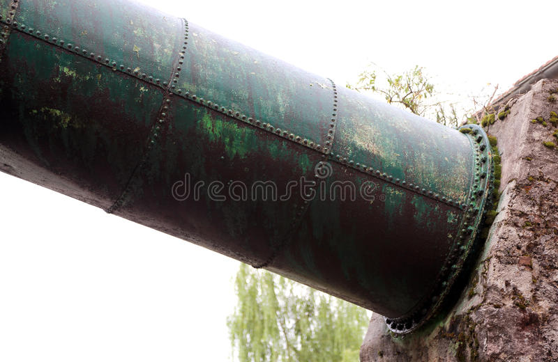Download Tube Into The Industrial Plant Of A Power Station Stock Image - Image of plant, fuel: 55505619
