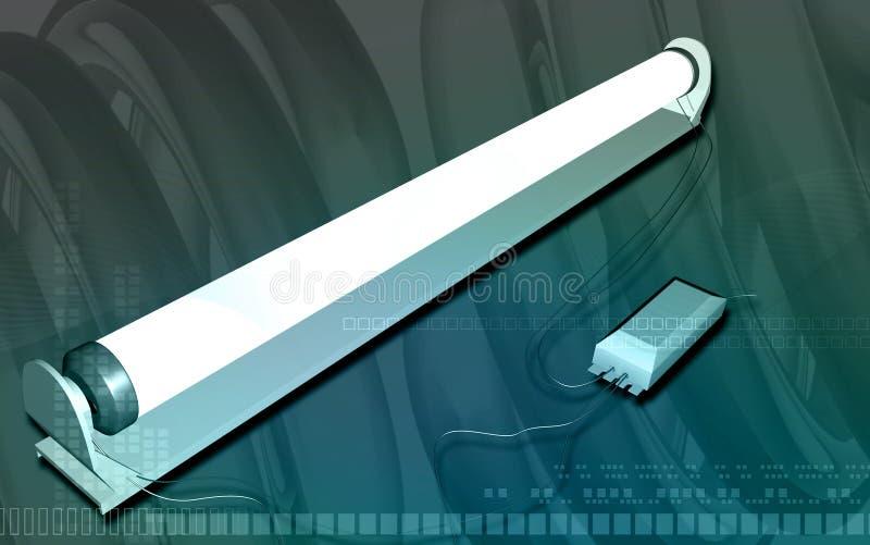Download Tube light stock illustration. Illustration of interior - 7444222