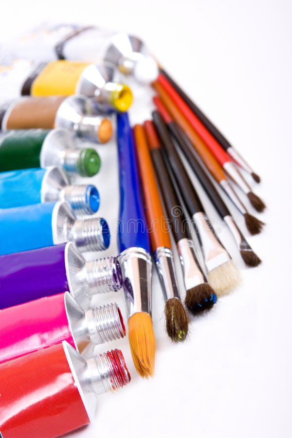 Download Tube of paint stock image. Image of hobby, artistry, border - 10093395