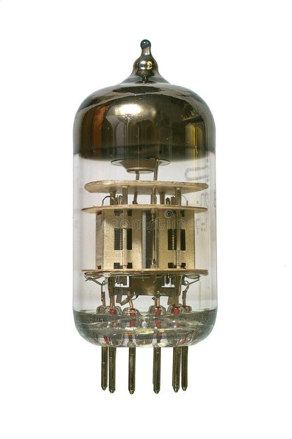 Tube par radio de vieux vide. photos stock