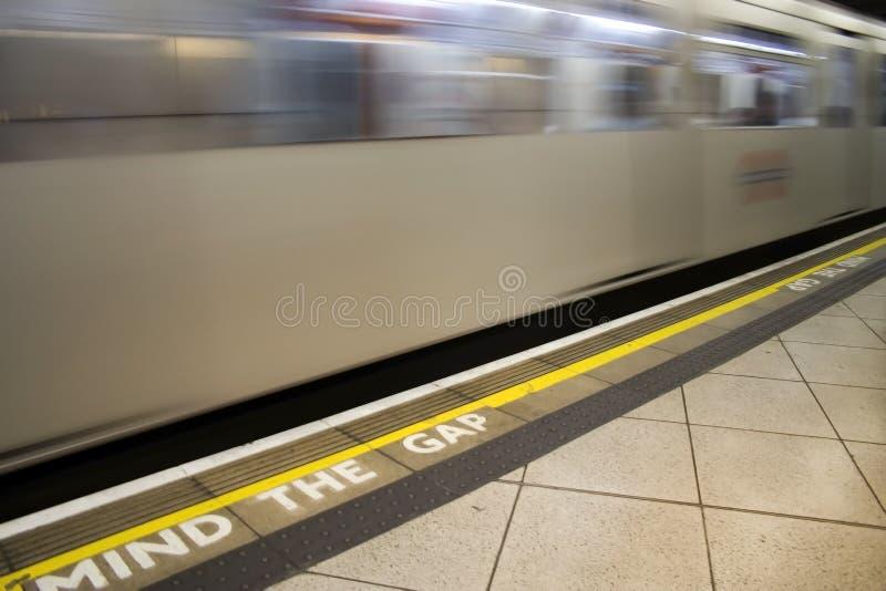 Tube Train royalty free stock photo