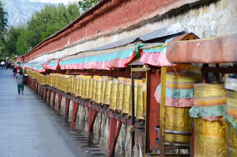 The tube under the potala palace royalty free stock image