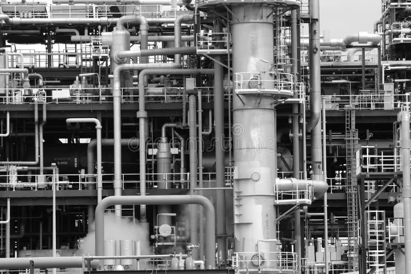 Tubería industrial foto de archivo