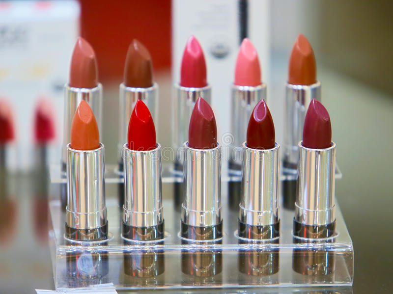 Download Tubes of lipstick stock photo. Image of lipstick, make - 61059386