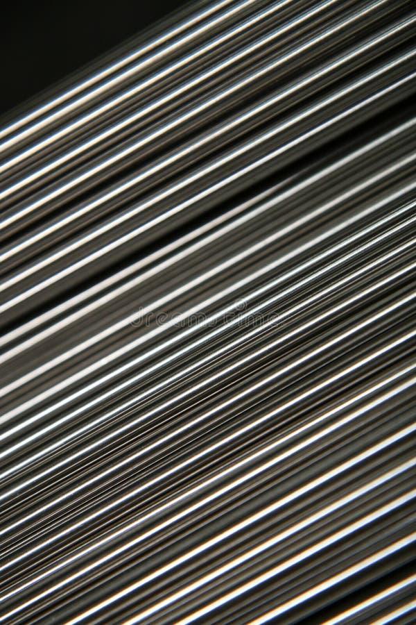 Tubi d'acciaio brillanti immagini stock libere da diritti