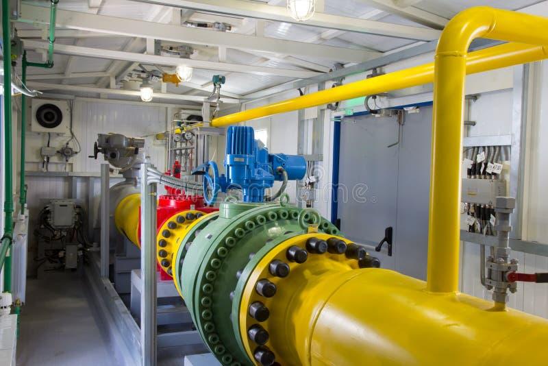 Tubi della centrale elettrica immagine stock libera da diritti