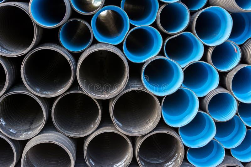 Tubi della costruzione immagine stock