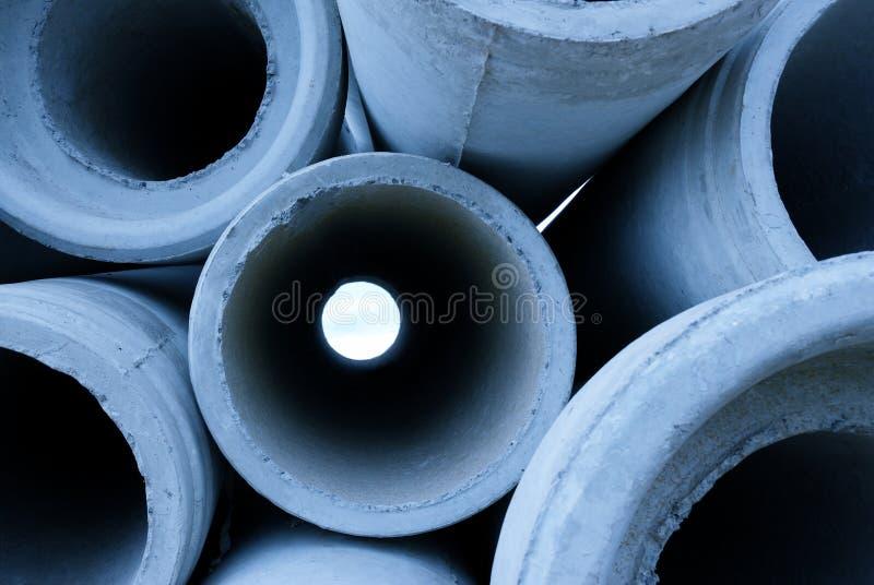 Tubi di acqua immagine stock