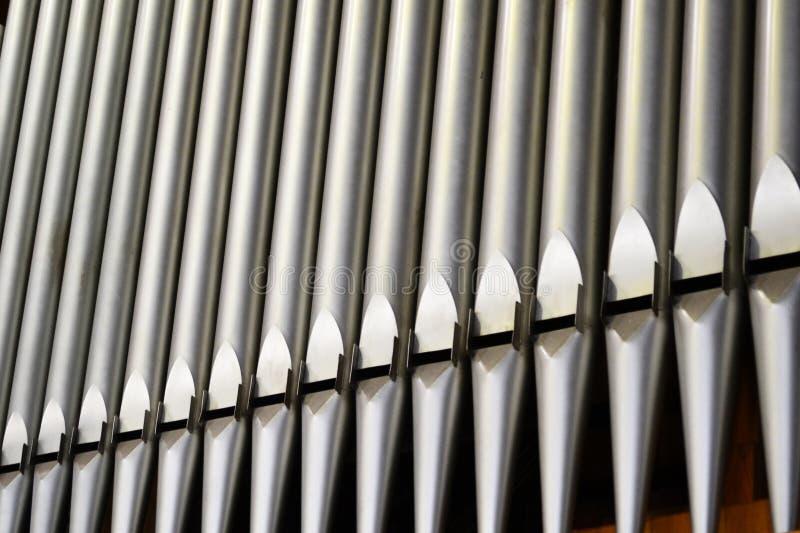 Tubi di bello organo immagine stock