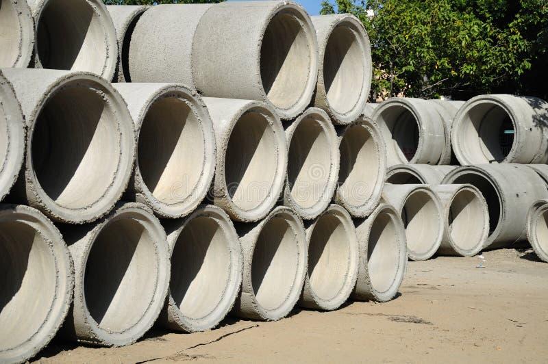 Tubi di Beton. immagini stock