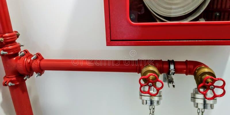 Tubi di Sistems del fuoco immagini stock