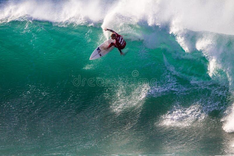 Tubi eccellenti praticanti il surfing 1 della baia di Jeffreys di concorso fotografia stock libera da diritti