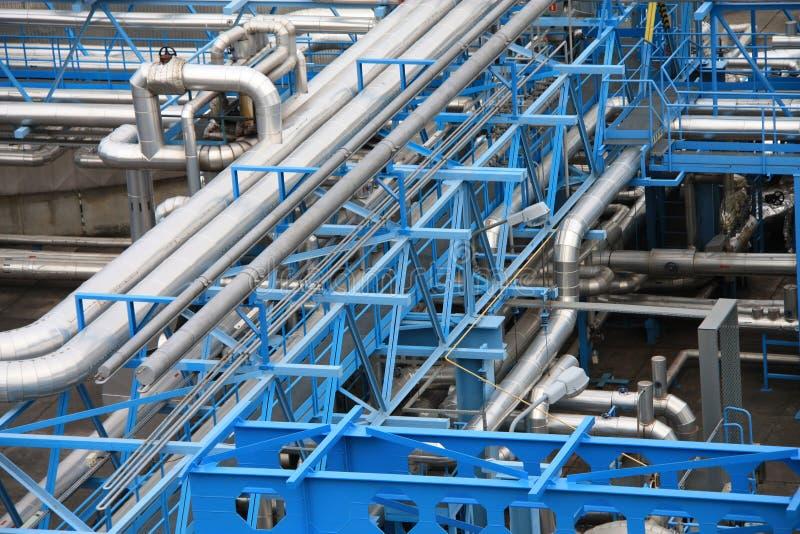 Tubi industriali fotografia stock libera da diritti